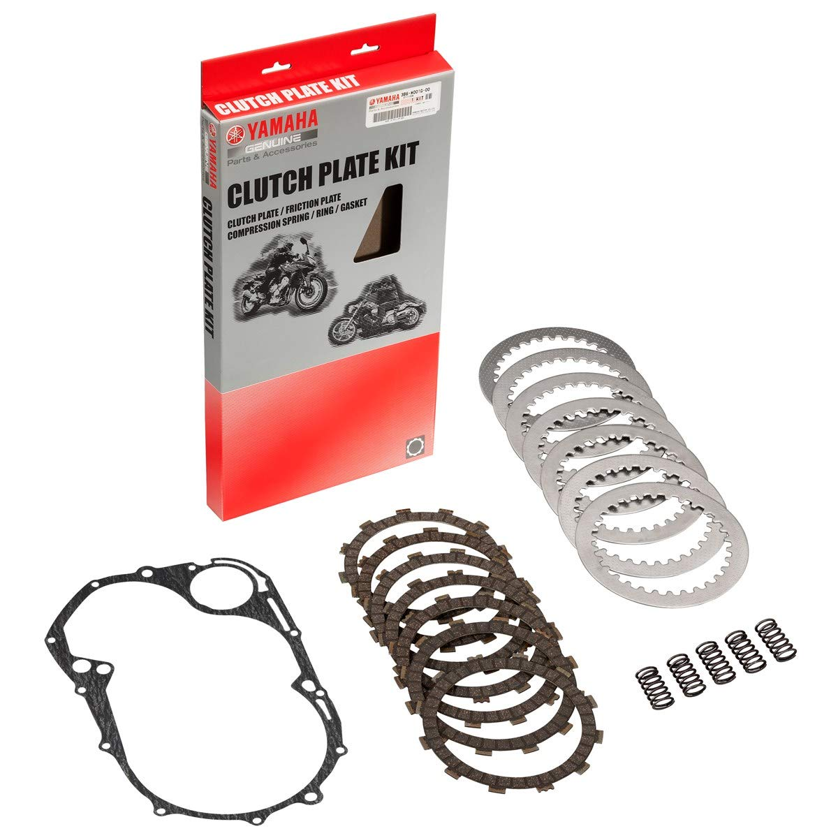 Yamaha 3B6-W001G-00-00 Clutch Kit for Yamaha V-Star Classic by YAMAHA