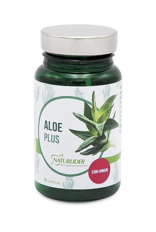 Naturlider Slimnutrients Aloe Plus Suplementos para Salud Digestiva - 60 cápsulas