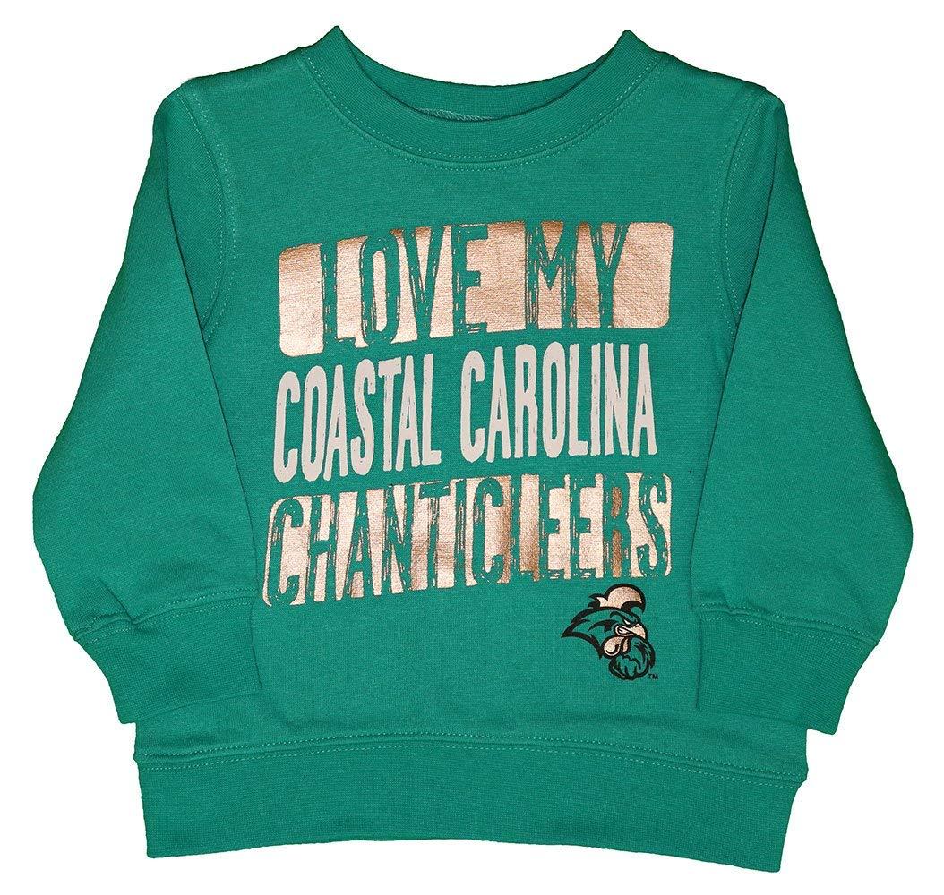 RussellApparel NCAA Coastal Carolina University Infants//Toddlers Fleece Crew Neck