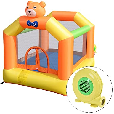 Amazon.com: costzon hinchable Bouncer Jumping cámara Cutty ...