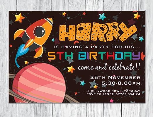 10 x personalizado invitaciones de cumpleaños con sobres ...