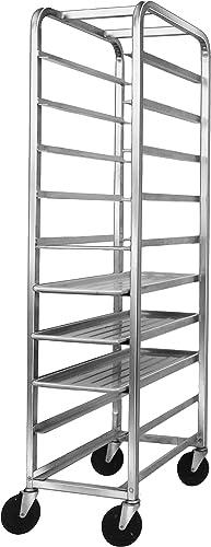 Channel Manufacturing 519AP Bottom Load Aluminum Platter Rack – 10 Shelf