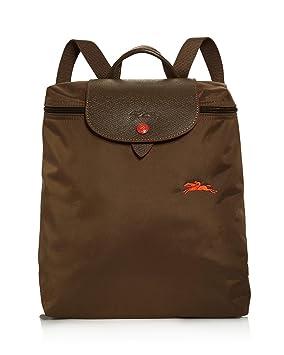 Longchamp Le Pliage Club Nylon Backpack (Khaki): Amazon.co
