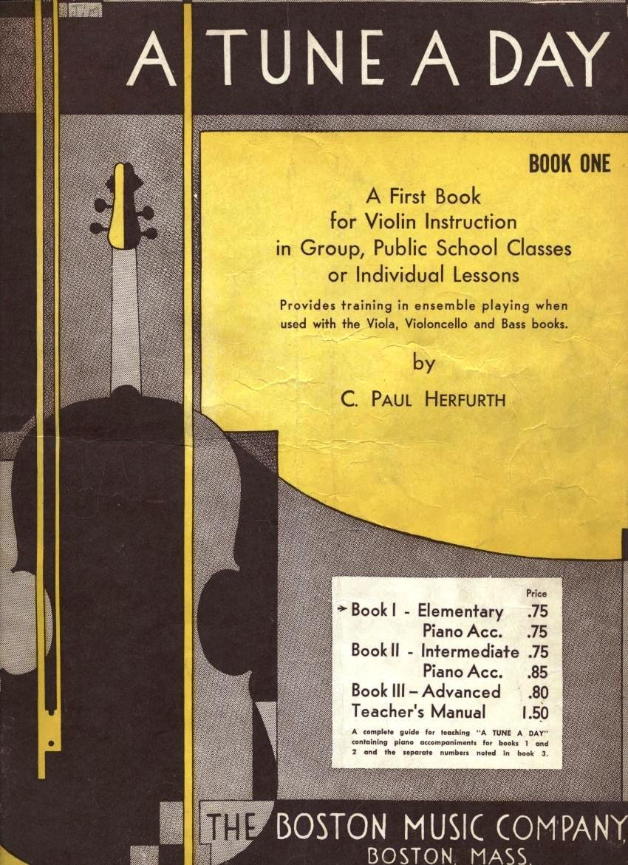 A Tune A Day for Violin - Book 3