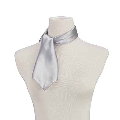 Pure Color Silk Feel Scarves Clothing Accessories Square Scarf Fashion