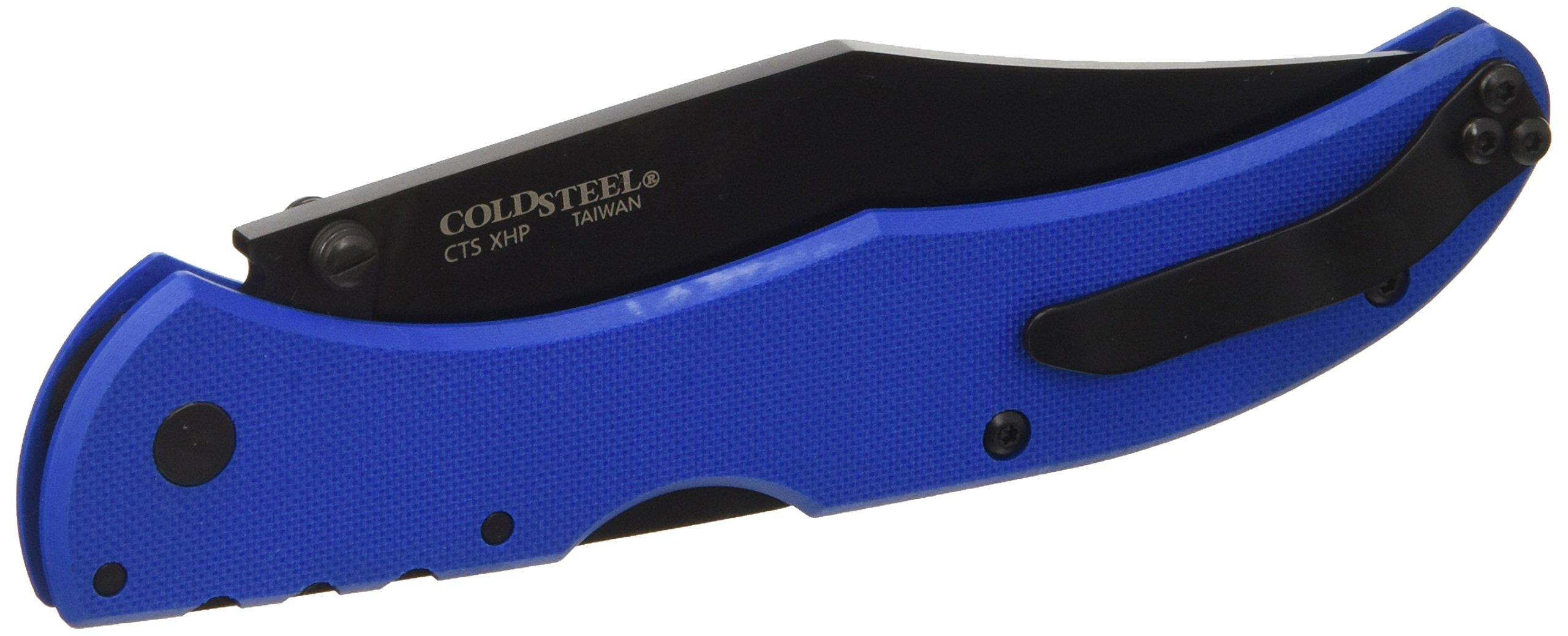 Cold Steel 4011880 Broken Skull Iv 4in Drop Pt. Folder-Blue