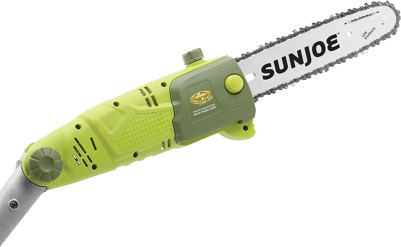 Sun Joe 10-Inch 8-Amp Electric Pole Chain Green SWJ803E Power Tools