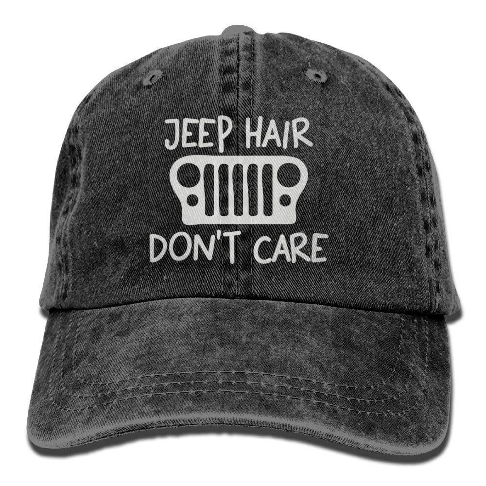 Don't Care 1 Denim Hat Adjustable Men's Snapback Baseball Hats