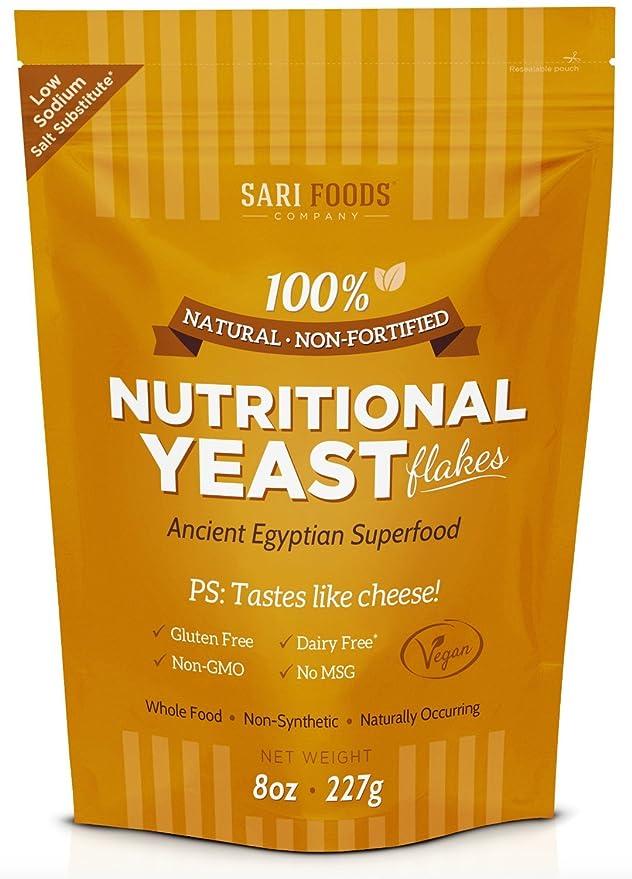 Levadura Nutricional (Nutritional Yeast): Amazon.es: Alimentación y bebidas