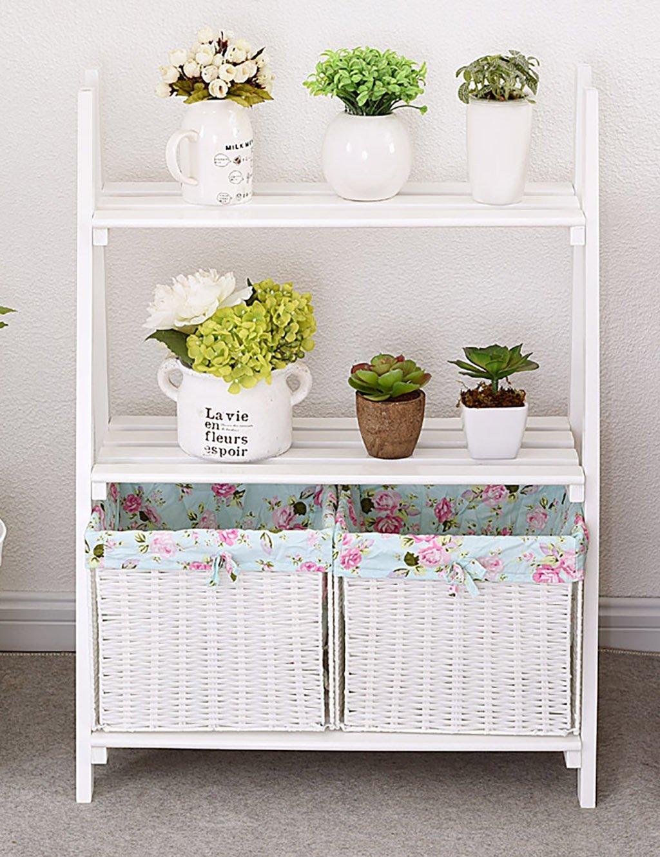 Woody Mehrschicht-Blumenregal Balkon Regal Wohnzimmer Klapp-Blumenregal ( größe : B-L*W*H: 60*31*80cm )