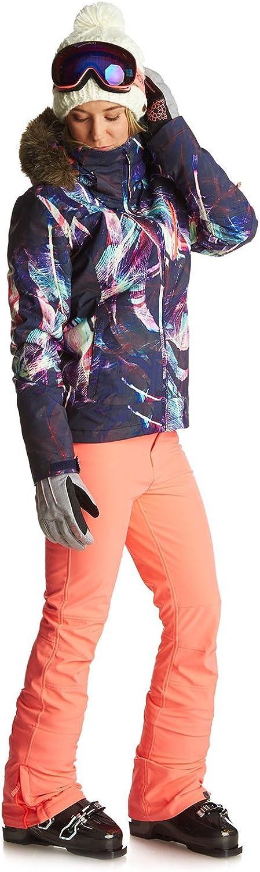 Roxy Creek Pt Pantalones Para Nieve Mujer Esqui Ropa