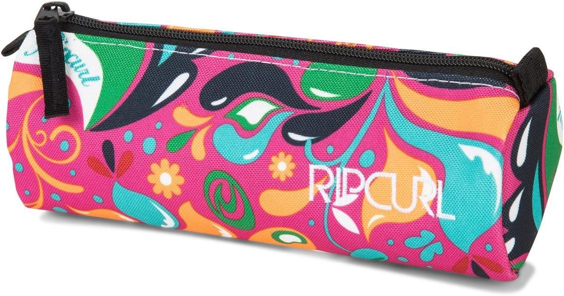 RIP CURL Drops Pencil Case Estuche de Un Compartimento con Cierre de Cremallera 21 cm