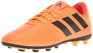 cef41f1b26da adidas Nemeziz 18.4 FxG J Running Shoe Zest core Black Solar red 1 M