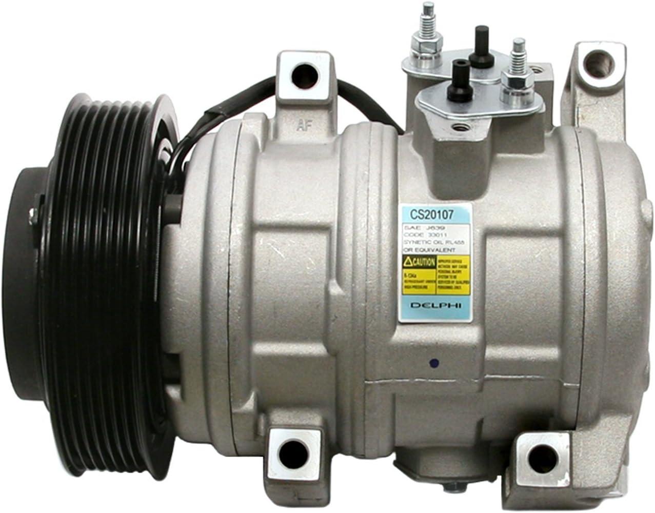 Delphi CS20107 10S17 New Air Conditioning Compressor