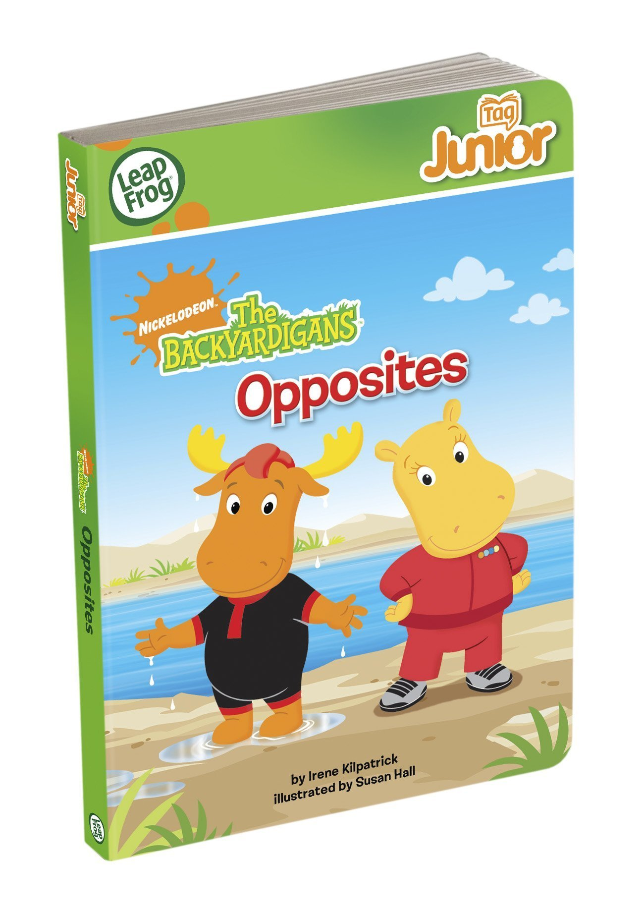 Leapfrog Tag Junior Book: The Backyardigans Opposites by Nickelodeon (Image #1)