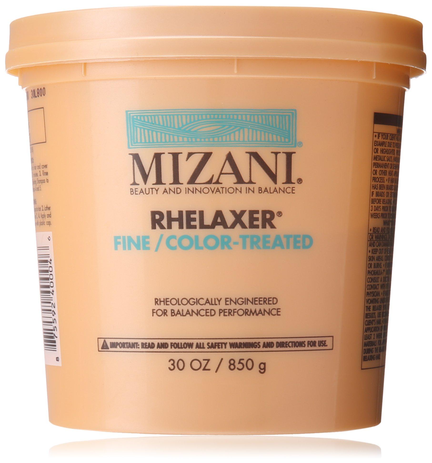 Amazon Mizani Rhelaxer For Finecolor Treated Hair 30 Ounce