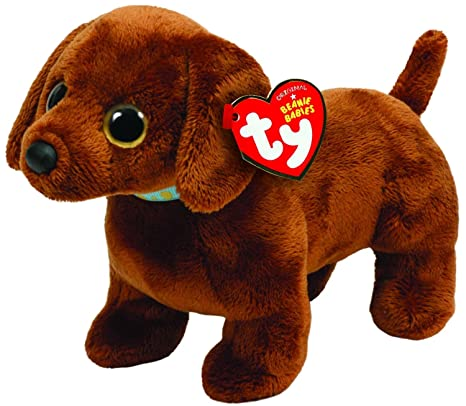 dc0478f07a0 Image Unavailable. Image not available for. Color  TY Beanie Baby - FRANK  the Dachshund Dog
