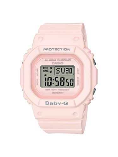 Casio Reloj Digital para Mujer de Cuarzo con Correa en Resina BGD-560-4ER: Amazon.es: Relojes