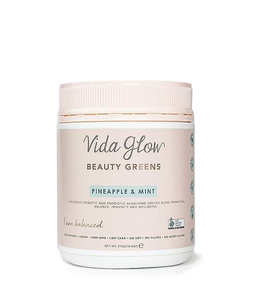 Vida Glow belleza polvo verdes: Amazon.com: Grocery ...