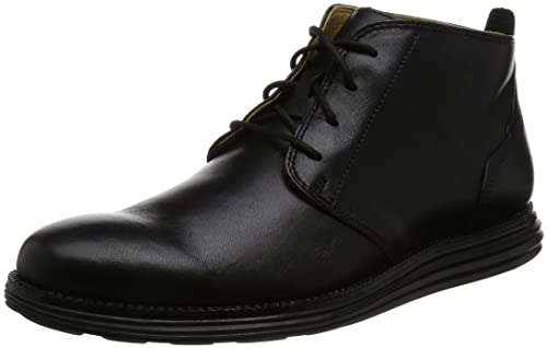 Cole Haan Men's Original Grand Chukka Boot, Black/Black, ...