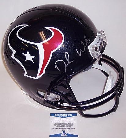 Deshaun Watson Autographed Hand Signed Houston Texans Full Size Replica  Helmet - Beckett BAS 6381345d4