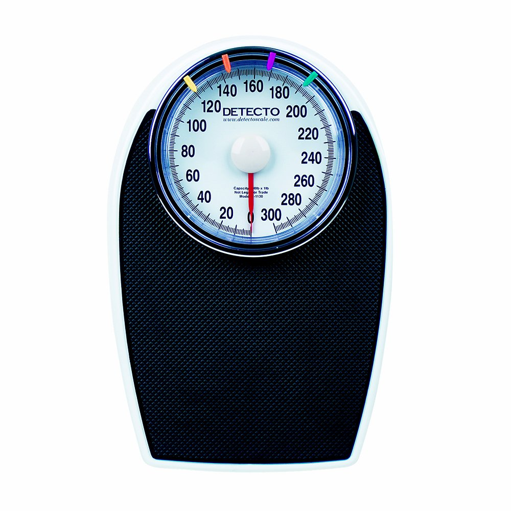 Detecto D-1130 ProHealth Personal Scale, 300 lbs Capacity by Detecto