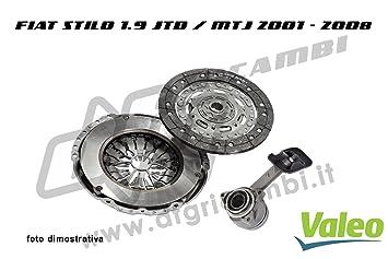 Embrague + Rodamiento Hidráulico Valeo (834005) 826354 + 804521