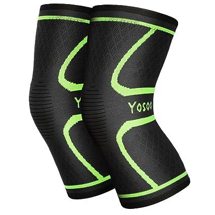Yosoo Knee Sleeves 1 par, Athletic – Rodillera de compresión para ...