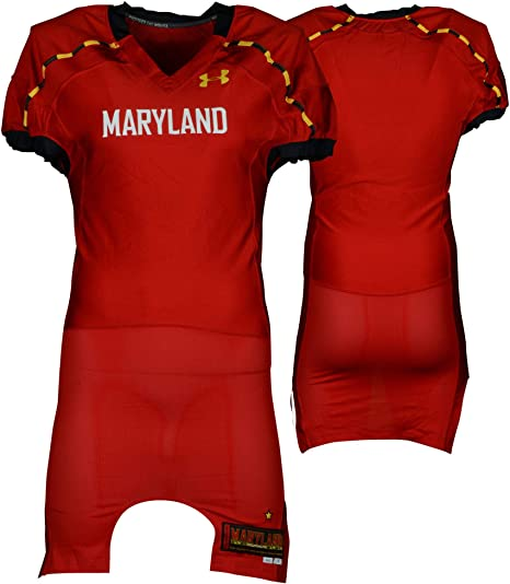 premium selection 978d8 aa457 Amazon.com: Maryland Terrapins Team-Issued Blank Standard ...