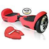 SWAGTRON T1 SILICONE CASE Self-balancing scooter 6.5 inch. Full-Body Protector Cover Skin for T1 Hover Board - Absorbs Impact for Safe Riding