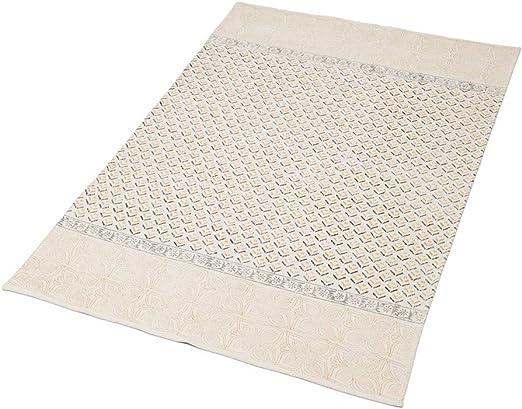 LA FIANCEE DU MEKONG – Alfombra de algodón 120 x 180 cm, Tela, Crudo, 120_x_180_cm: Amazon.es: Hogar