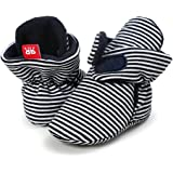 Sabe Boys Girls Non-Slip Mininalst Soft Sole Infant First Pram Shoes Booties Gift for Early Walkers