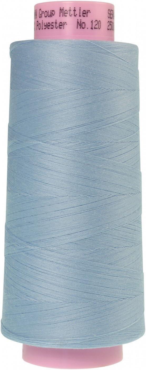 Mettler Seracor Polyester Serger Thread 50 Weight 2743 Yard Cone