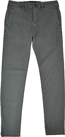 Amazon Com American Eagle 3689090 Extreme Flex Skinny Pantalones Para Hombre Color Caqui 30 Cintura X 32 Largo Clothing
