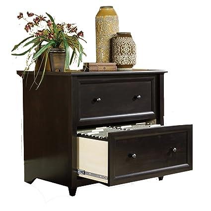 Mueble archivador con 2 cajones y seguridad de enclavamiento para carpetas de archivos de tamaño carta