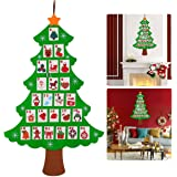 NICEXMAS Christmas Advent Calendar Tree Calendar Countdown to Christmas