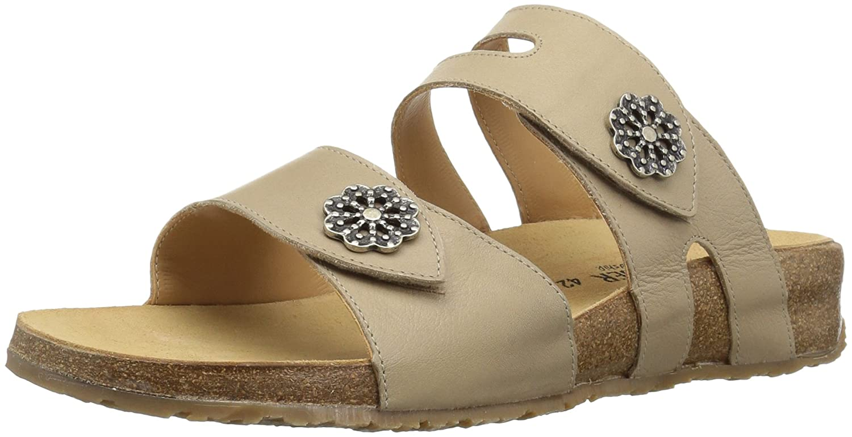 Haflinger Women's Pansy Flat Sandal B075839326 39 M EU (8 US)|Taupe