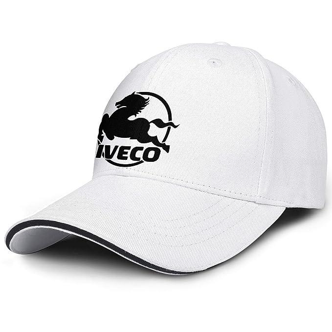 2d0916e3 Amazon.com: BEQDCWED Mens Womens Caps IVECO Black Hat Snapback ...