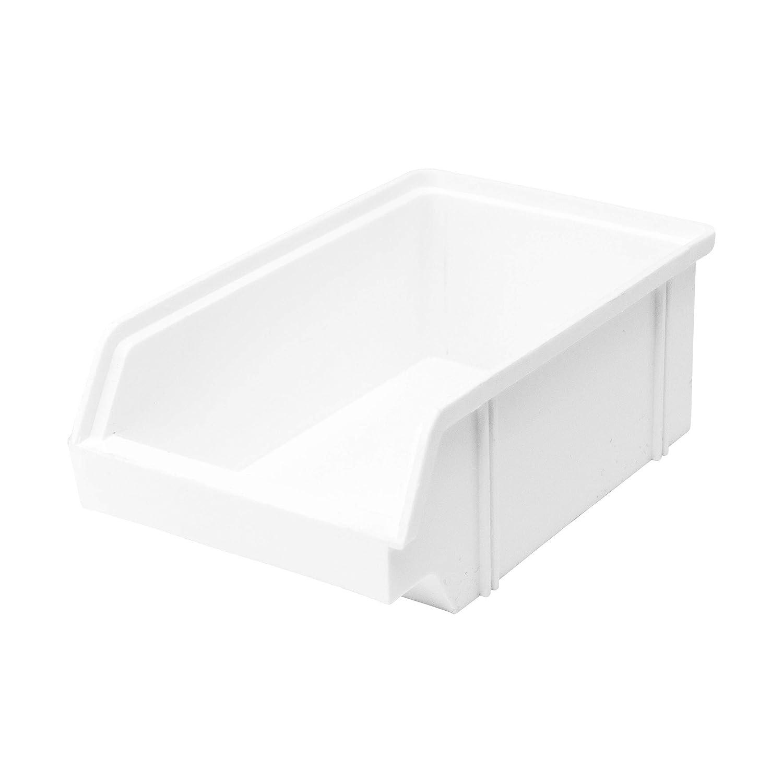 Lantelme 3936 Bandeja para almacenaje (10 unidades, plástico), color blanco: Amazon.es: Industria, empresas y ciencia