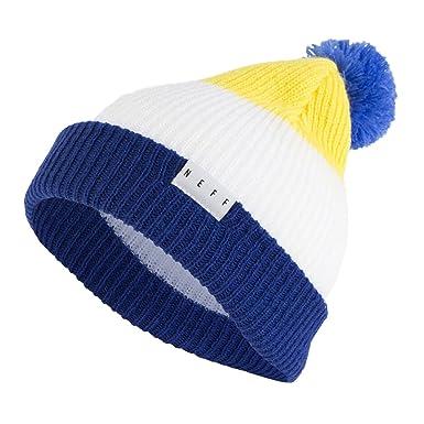 Amazon.com  NEFF Adult s Snappy Beanie Hat Unisex Pom Slouchy ... 838ca5f6fcd