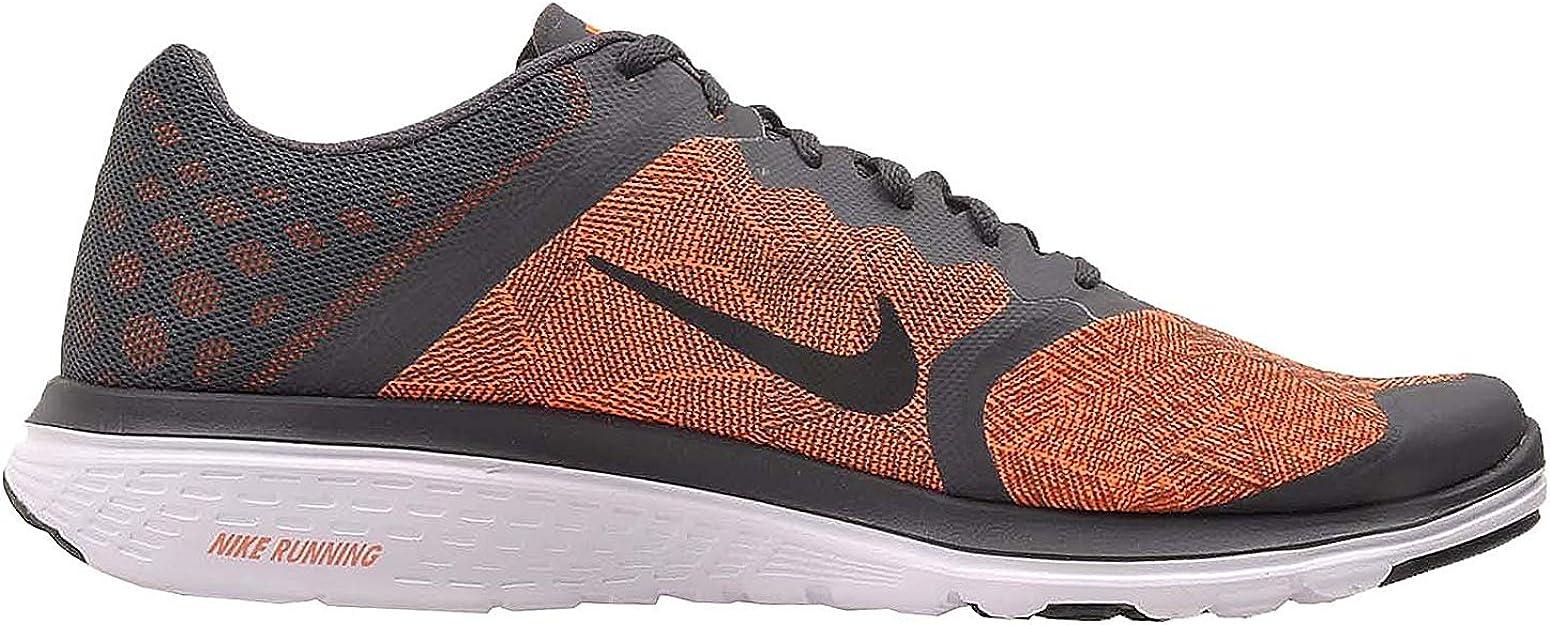 Zapatillas de running Nike Fs Lite Run 3 Print antracita / negras-Total Orange-White tobillo-altas - 11M: Nike: Amazon.es: Zapatos y complementos