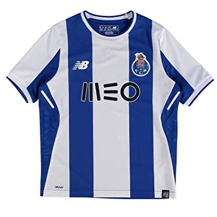 4aec57e7c05 Amazon.com   New Balance 2017-2018 FC Porto Home Football Soccer T ...