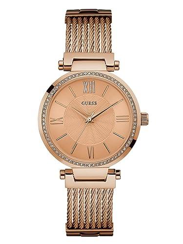 Amazon.com: Guess Relojes Guess de la mujer reloj de oro ...