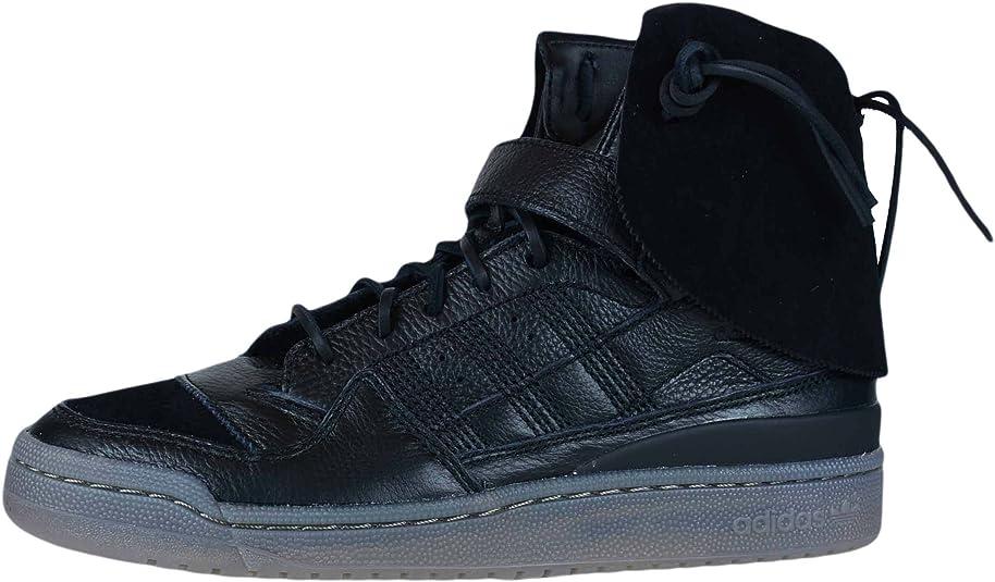 Adidas Forum Hi Moc Hombre US 9.5 Negro Zapatillas: Amazon.es ...