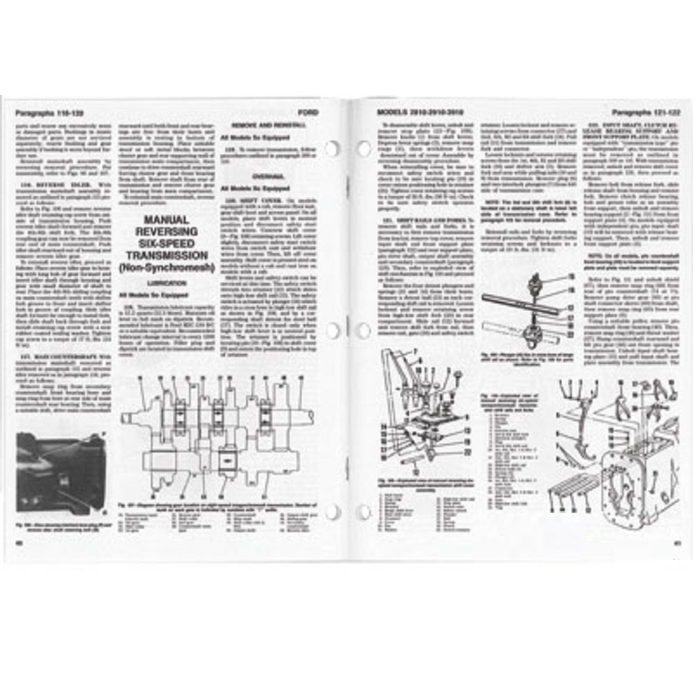 Smfo43 Fo 43 Fo43 New Ford Tractor Shop Manual 2810 2910 3910 Wiring Diagram Industrial Scientific