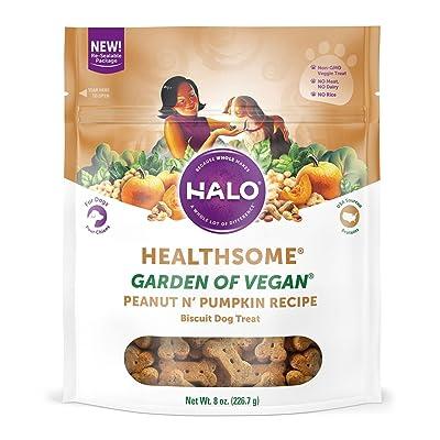Halo Vegan Grain Free Natural Dog Treats