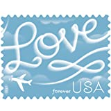Love Skywriting USPS Forever First Class Postage