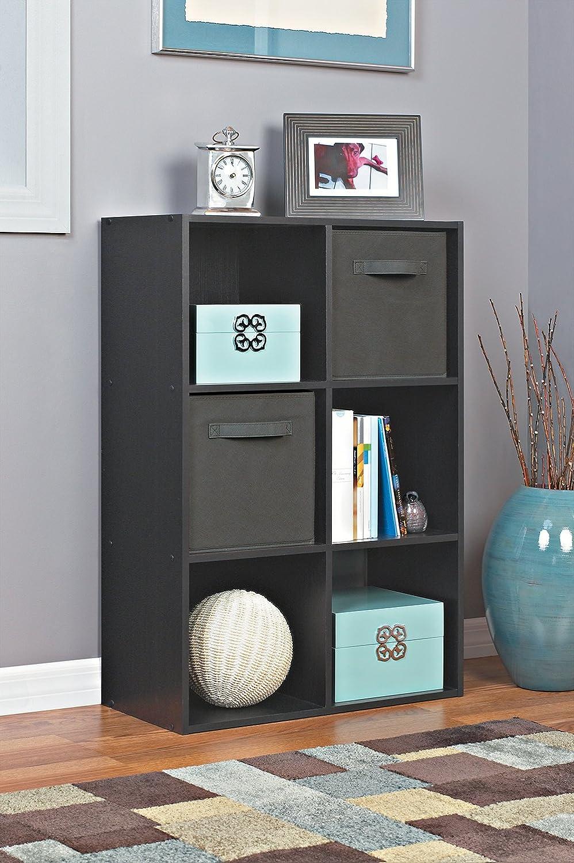 Amazon.com: ClosetMaid 1574 Cubeicals Organizer, 6 Cube, Black: Home U0026  Kitchen