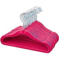30-Pack AmazonBasics Kids Velvet Non-Slip Clothes Hangers
