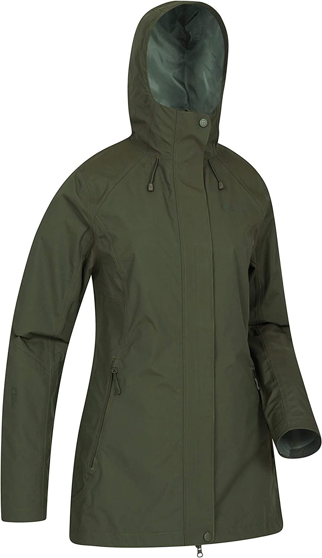 Mountain Warehouse Rainstorm Womens Waterproof Rain Jacket Winter